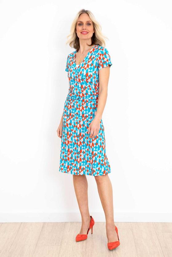 Geri Print Skirt