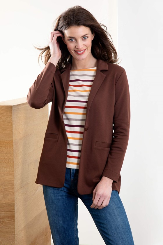 Tania Jersey Blazer