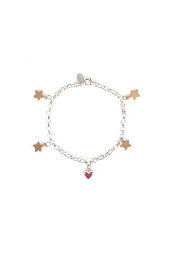 Charm Bracelet Rose Gold