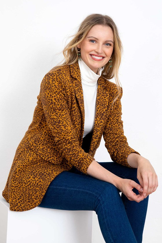 Leonie Leopard Jacket