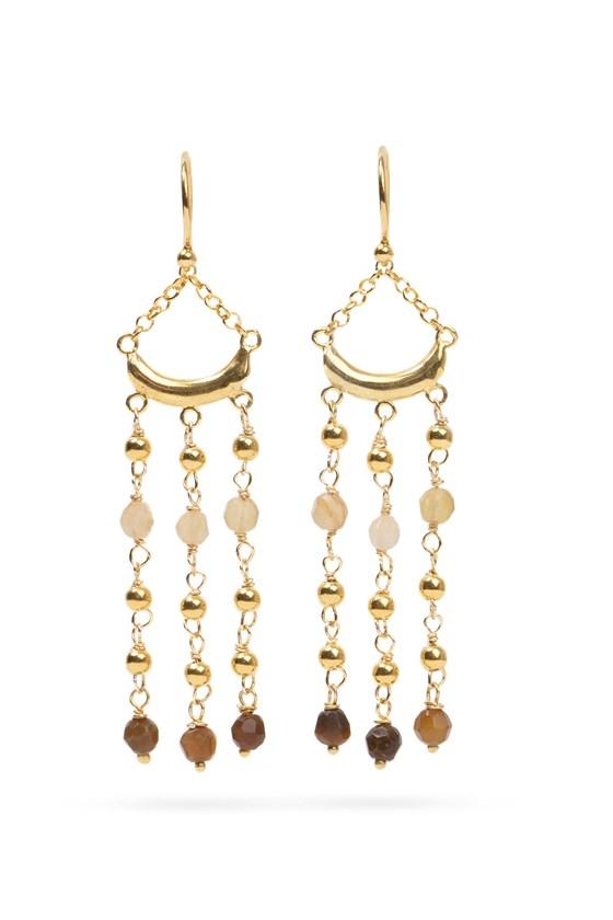 Luna Earrings Gold