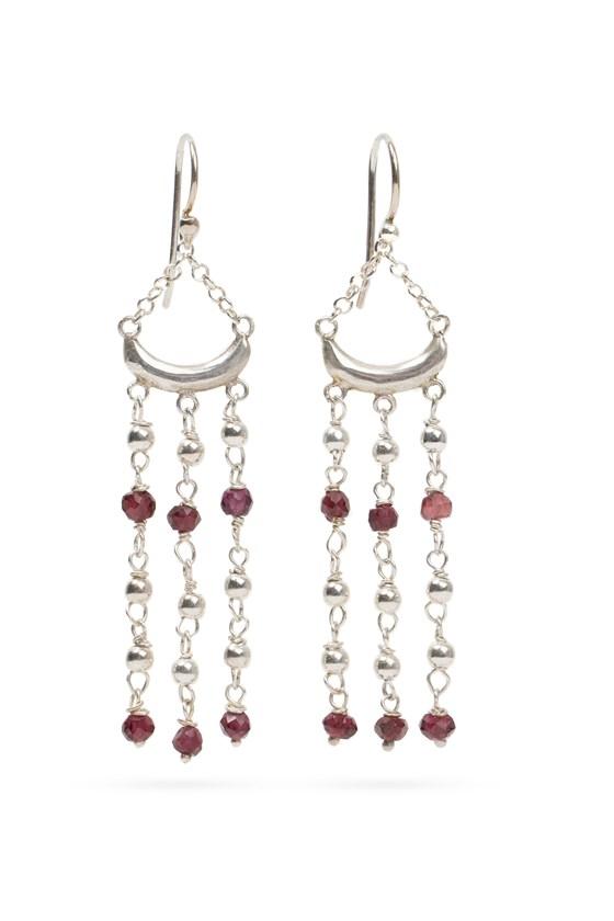 Luna Earrings Silver