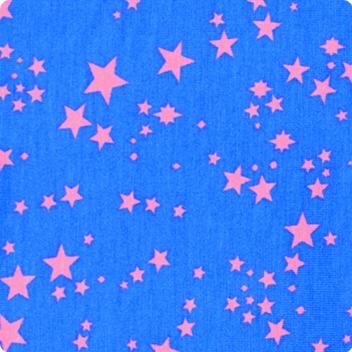 Bright Blue & Coral