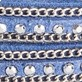 Wrap Bracelet Bluebell-Silver