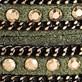 Wrap Bracelet Olive-Gold