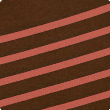 Chocolate & Chestnut Stripe