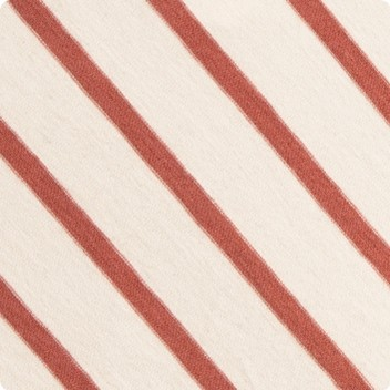 Copper Rose Stripe