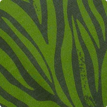 Jungle Green Zebra