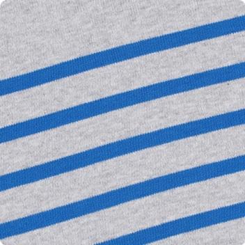 Light Grey Marl & Dutch Blue