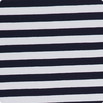 Navy Narrow Stripe