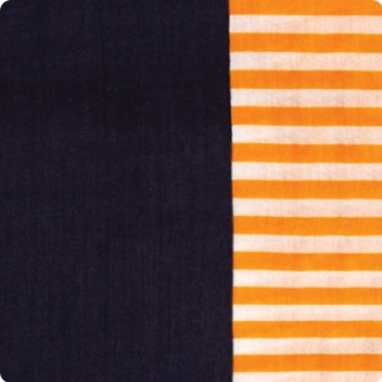 Orange Stripe Scarf