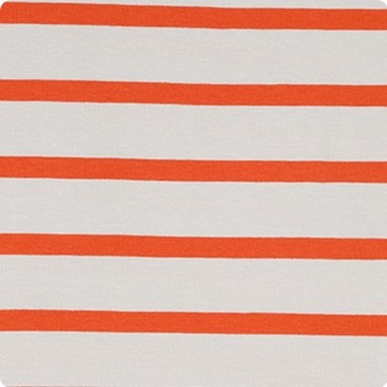Orange & Pebble Stripe
