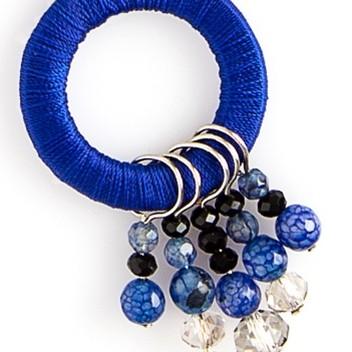 Sapphire & Black Hoopla