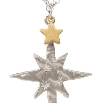 Silver Star & Silver Chain