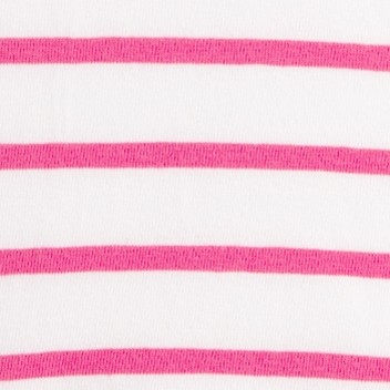 Cerise Pink Stripe