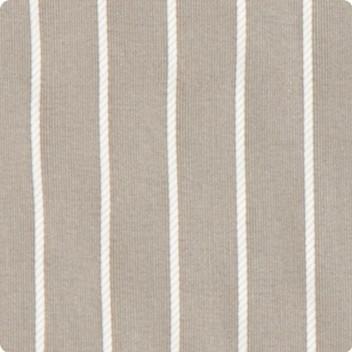 Taupe Grey Pinstripe